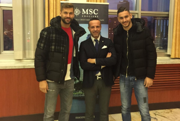 Msc Crociere e SSC Napoli presentano il calendario 2020