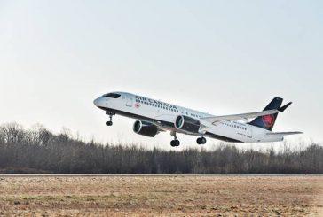 Il primo Airbus A220-300 di Air Canada prende il volo