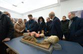 Rieti, Franceschini inaugura laboratorio restauro per opere salvate ad Amatrice e Accumoli