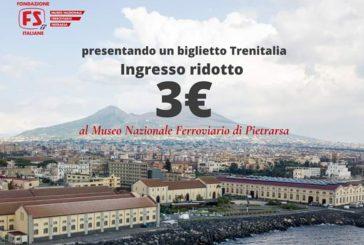 Fondazione FS, ticket a 3 euro per Museo Pietrarsa nell'Anno del Treno Turistico