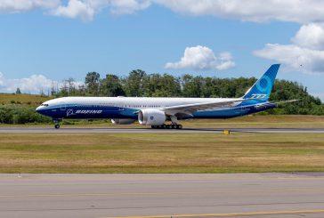 Meteo avverso e Boeing deve posticipare il primo decollo del 777X