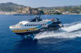 Liberty Lines, nelle Eolie entra in servizio nuovo aliscafo Carmen