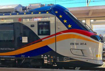 Consegnato a Catania il quinto treno Pop di Trenitalia per il rinnovo della flotta in Sicilia