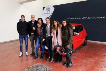 Eurochocolate, va in Campania la Peugeot 108 Allure del Concorso ChocoCard 2019