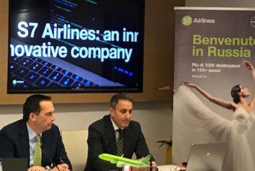 Anno record di S7 Airlines su Verona, oltre 1000 voli operati