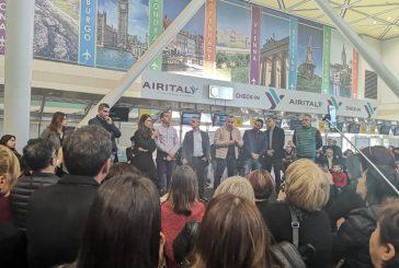 Air Italy, anche oggi presidio e assemblea lavoratori a Olbia e Malpensa:il 20 tavolo al Mit