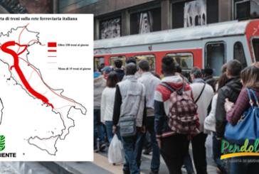 'Pendolaria' fotografa l'Italia dei treni, al Sud convogli vecchi e utenti in calo