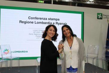 Ryanair e Regione Lombardia presentano alla Bit risultati campagna promozione brand