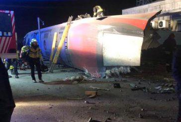 Deraglia treno AV a Lodi, due morti. Sospesa la linea Milano-Bologna