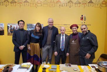 Eurochocolate Japan 2020: a Tokyo la visita dell'Ambasciatore italiano