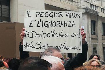 Adv protestano a Roma: il comparto in crisi per l'emergenza coronavirus