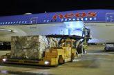 Da Pechino all'Italia, atterrato a Malpensa il volo umanitario di Neos