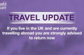 Da Londra l'avviso ai cittadini all'estero: rimpatriate, presto sarà impossibile