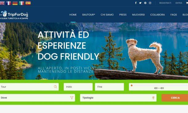 TripForDog, ecco la prima adv italiana per chi viaggia con gli amici a 4  zampe - Travelnostop